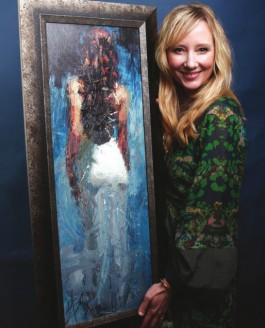 Anne Heche and Blue Rhapsody