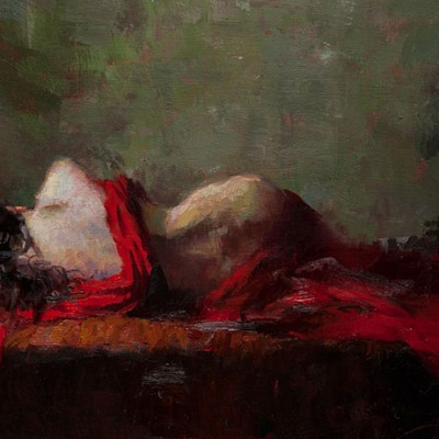 Painting by Henry Asencio